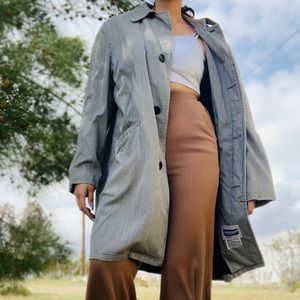Vintage// Nationally Advertised Long Trench Coat